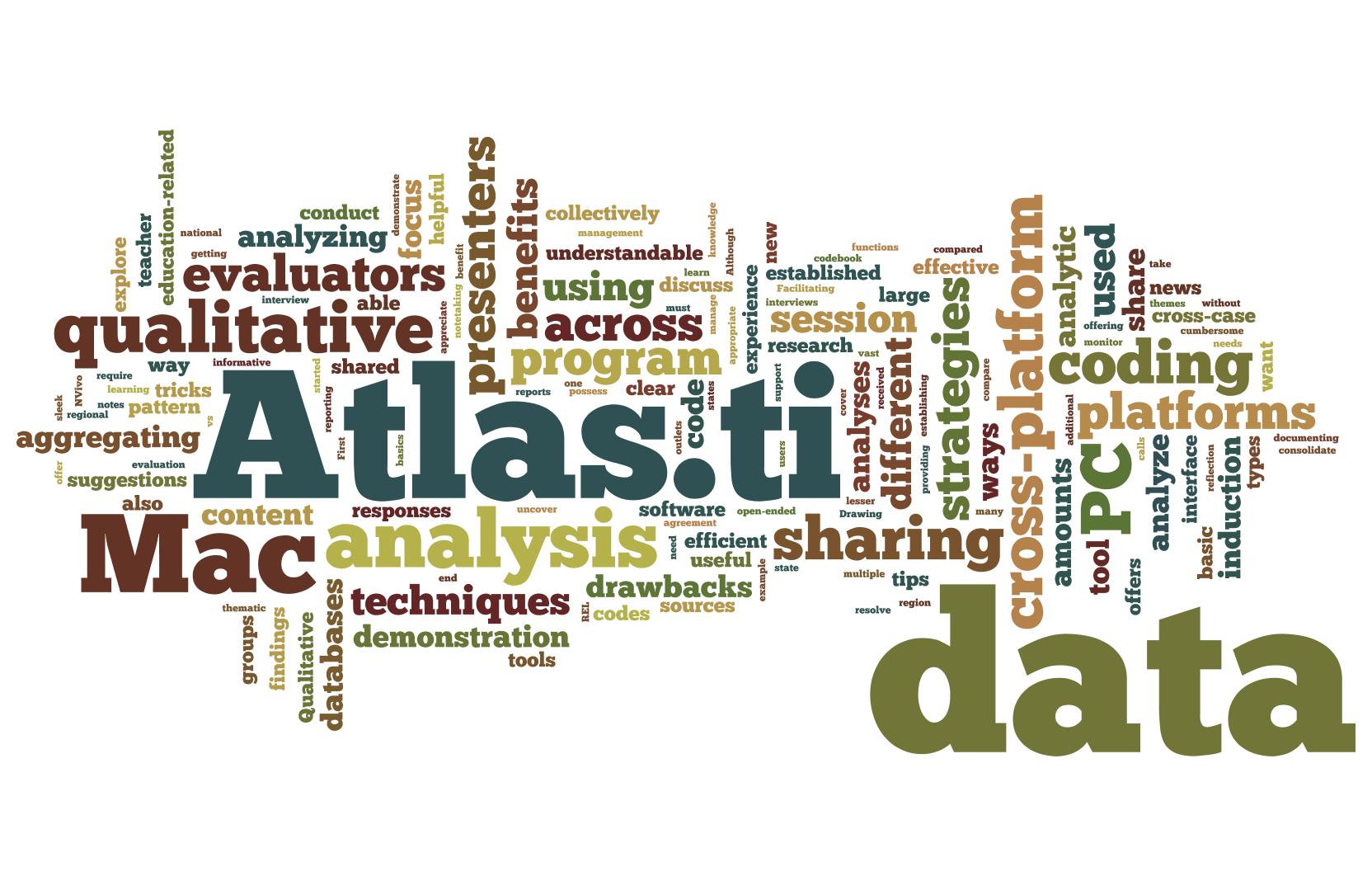 Atlas.ti Word cloud
